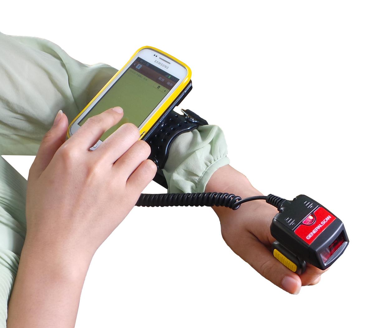 臂带式安卓指环扫描器