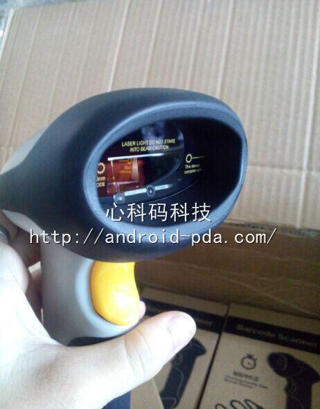 连接安卓Android系统的扫描枪